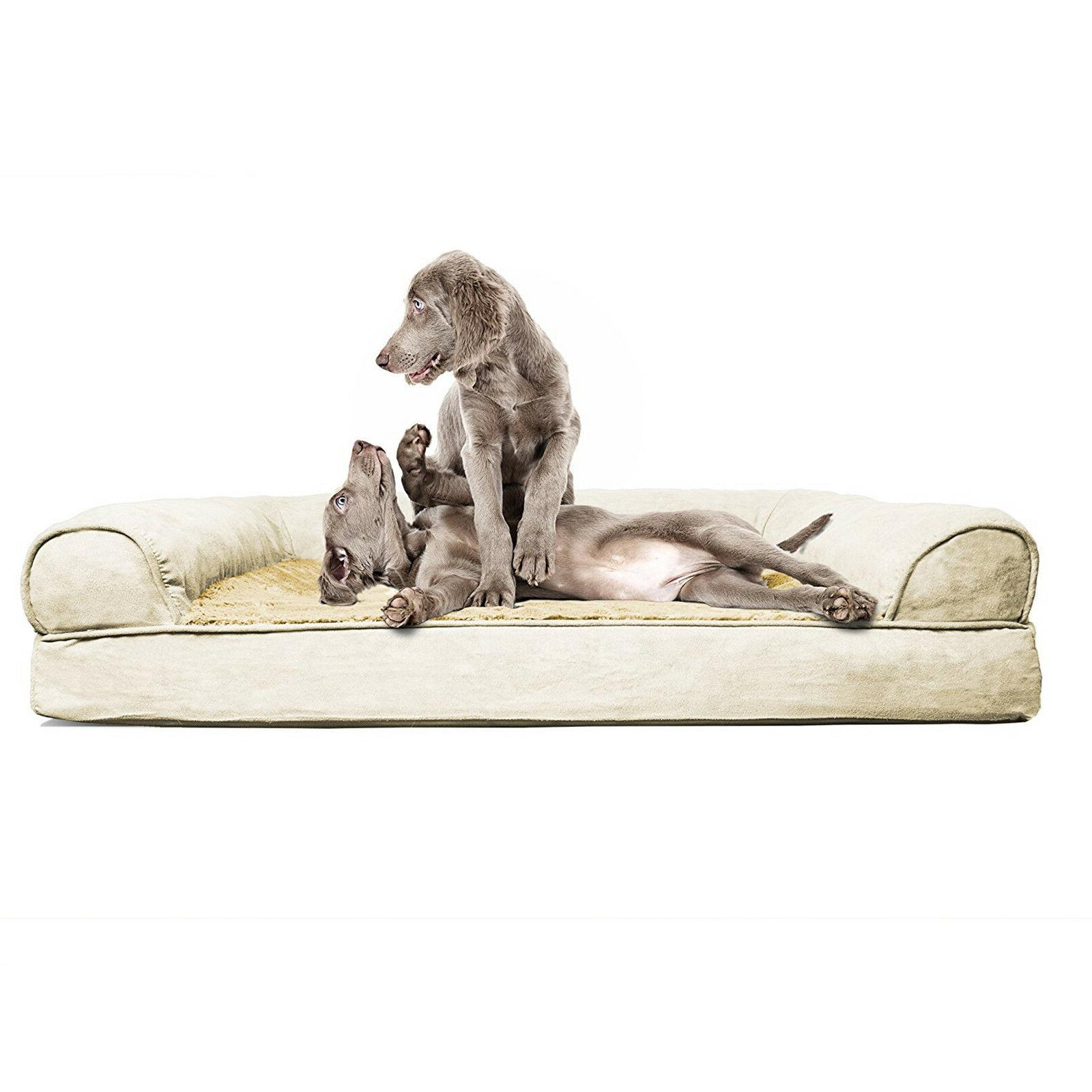 Orthopedic Sofa Foam Pets Comfortable Large Jumbo New