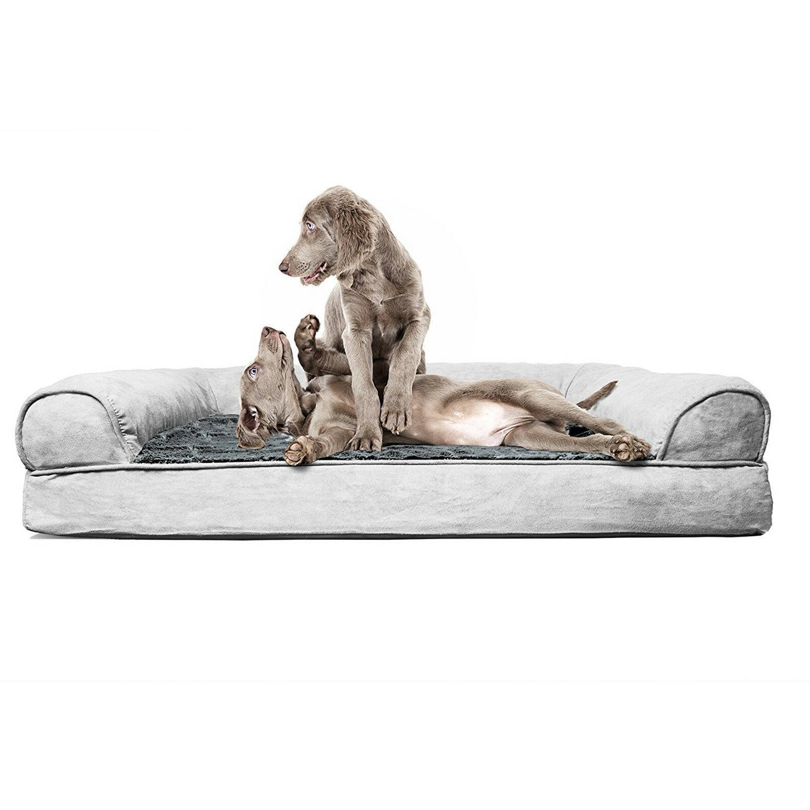Orthopedic Sofa Foam Pets Large Medium Cushion New