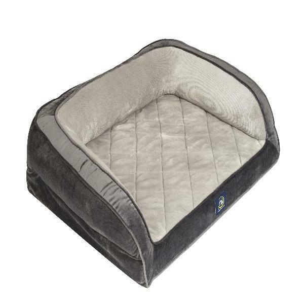 Serta Orthopedic Gel Memory Foam Quilted Couch Pet