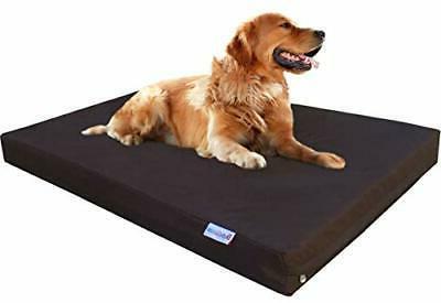 orthopedic memory foam dog 40x35x4 inch extra