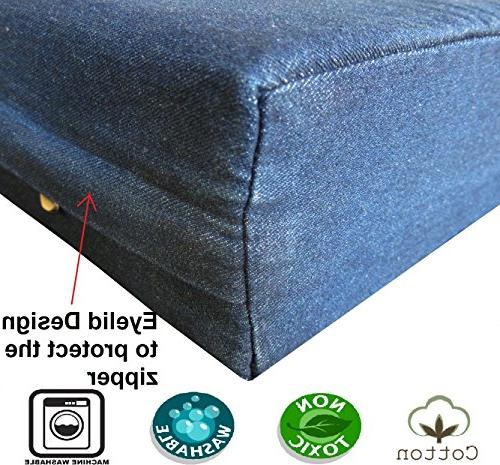 Dogbed4less Extra Memory Foam Dog Waterproof Extra Bed