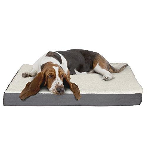PETMAKER Pet Bed with Memory Foam 36x27x4