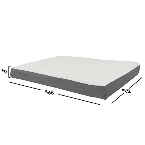 PETMAKER Top Pet Bed Foam 36x27x4
