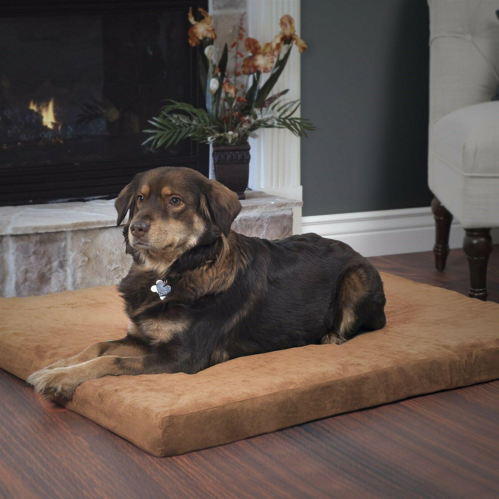 orthopedic super foam pet bed