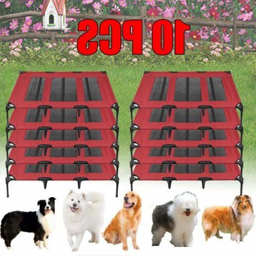 "Portable XL 48"" Dog Pet Cat Elevated Raised Hammock Bed Pupp"