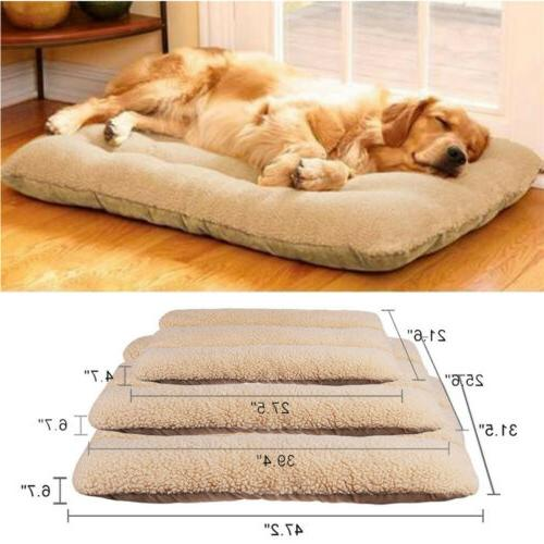 Oversized Large Orthopedic Bed Thick Cushion Pet Soft Kennel Pillow