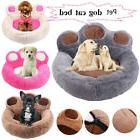 Paw Pet Dog Cat Puppy Bedding Bed Sofa Short Plush Warm Soft