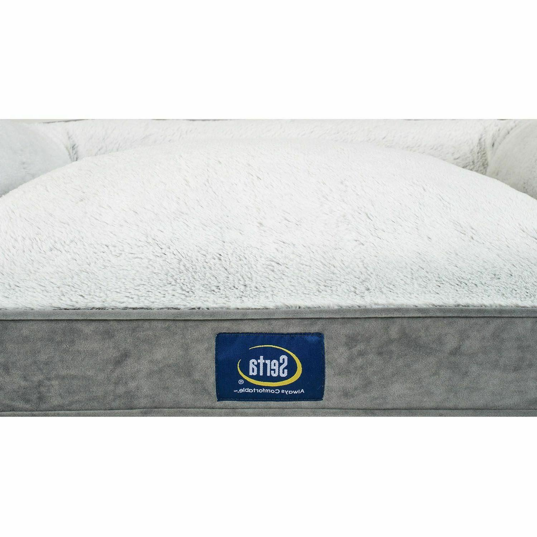 Serta Perfect Sleeper Memory Foam Blend Couch Pet