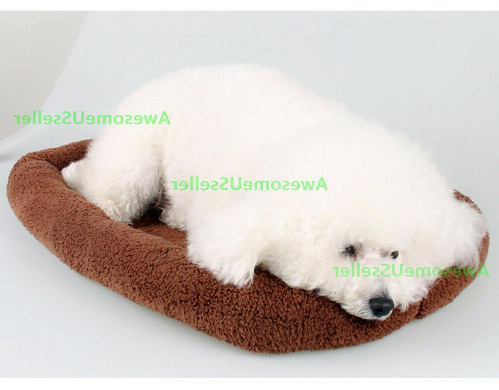 Pet Bed Cat Crate Mat Warm Outdoor Indoor Pets