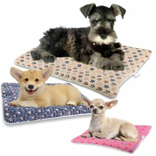 Pet Bed Cushion Mat Pad Dog Cat Kennel Crate Cozy Soft X-Lar