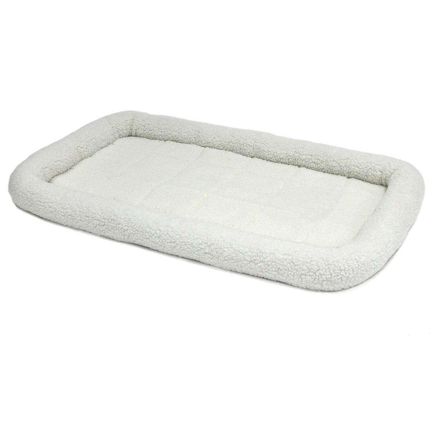 Pet Bed For Dogs And Cats Polyester-Filled Bolster Inch