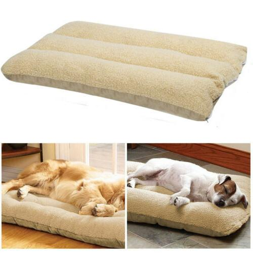 Pet Bed Mattress Dog Cat Cushion Pillow Mat Extra