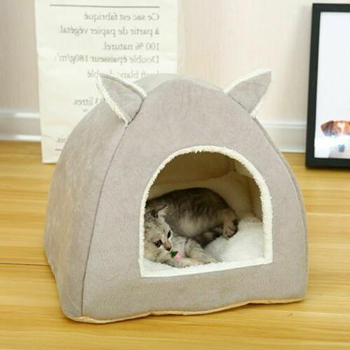 Nest Puppy Sleeping Cave Plush Kennel House