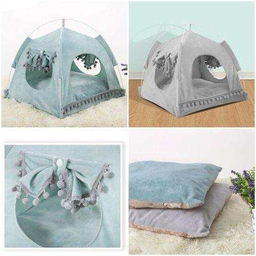 Pet Dog Bed House Kitten Small Kennel NEW