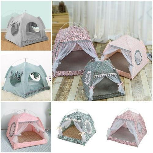 pet cat dog cave bed tent house