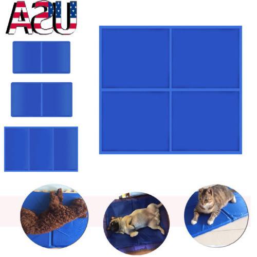 Pet Cooling Mat Cool Gel Pad Cooling Pet Bed for Summer Dog