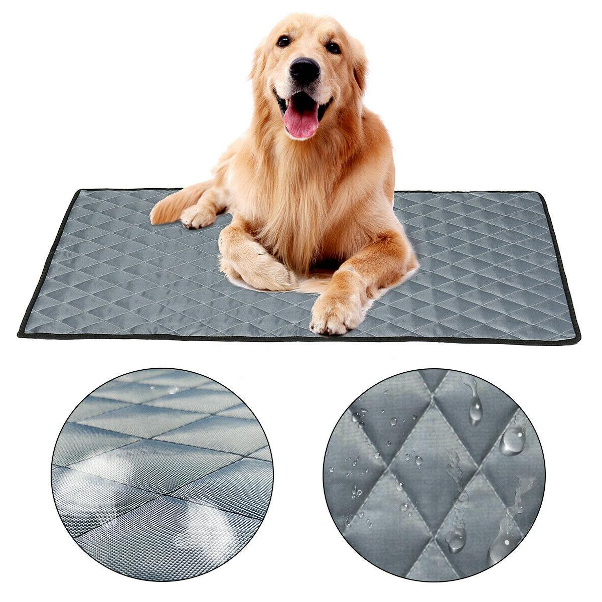 Pet Non-Toxic Cool Pad Bed For Puppy M/L/XL