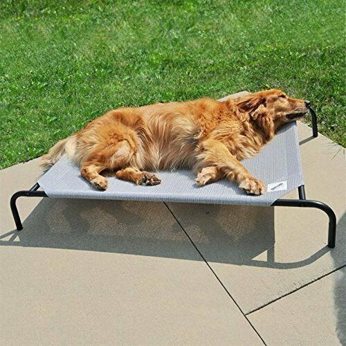 Pet Cot Large Mesh Dog Bed Outdoor Elevated Raised Platform