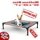 New K&H Pet Cot Medium Portable Dog Cat Sleep Elevated Bed C