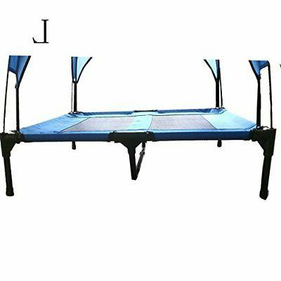 JANMO Pet Canopy Shelter Dog Bed Foldable Indoor and
