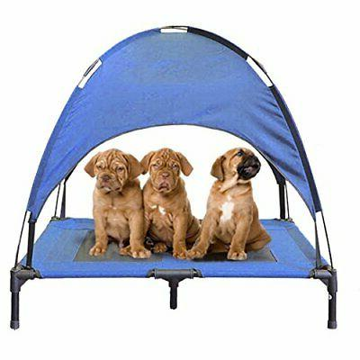 pet cot tent canopy shelter dog bed