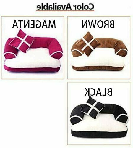 Pet Sofa Style Bed and Comfortable