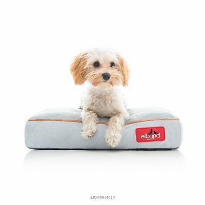 Pet Dog Bed Brindle Soft Memory Foam W/ Removable Washable C