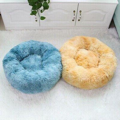 Pet Dog Cat Plush Bed Warm Bed Kennel