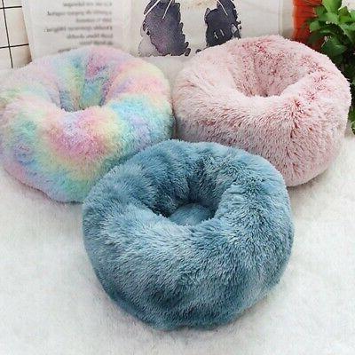 Pet Plush Soft Warm Calming Kennel Nest