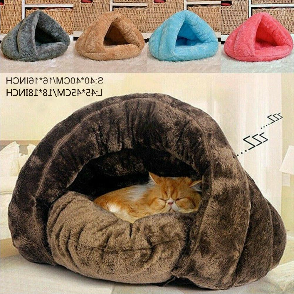 pet dog cat bed house warm soft