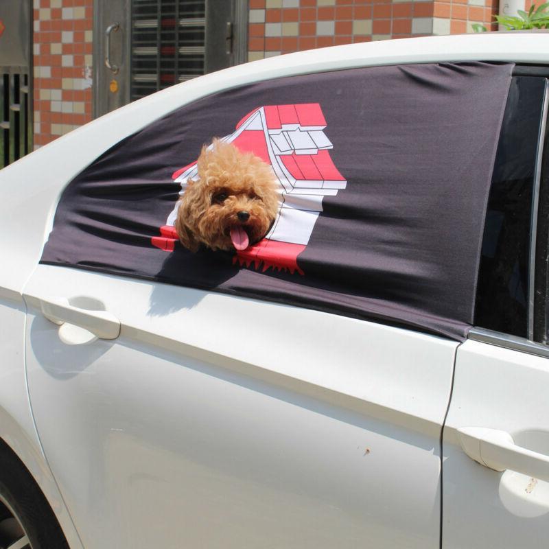 Pet Bed Warm Kennel Car Window Screen