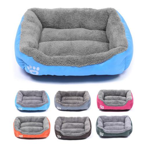 pet dog cat bed puppy cushion house