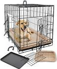 Pet Dog Cat Cage Crate Kennel and Bed Cushion Warm  Soft Coz