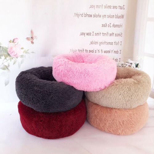 Bed Round Nest Soft Plush Sleeping