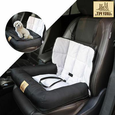 LOSY PET Soft Pet Dog Bed Car Bucket Seat Cover Mat Safe Saf