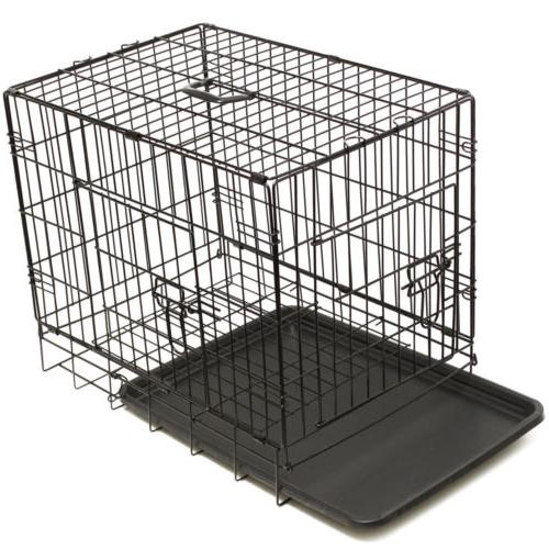 Pet Dog Kennel Cage Bed Cushion Warm Cozy House
