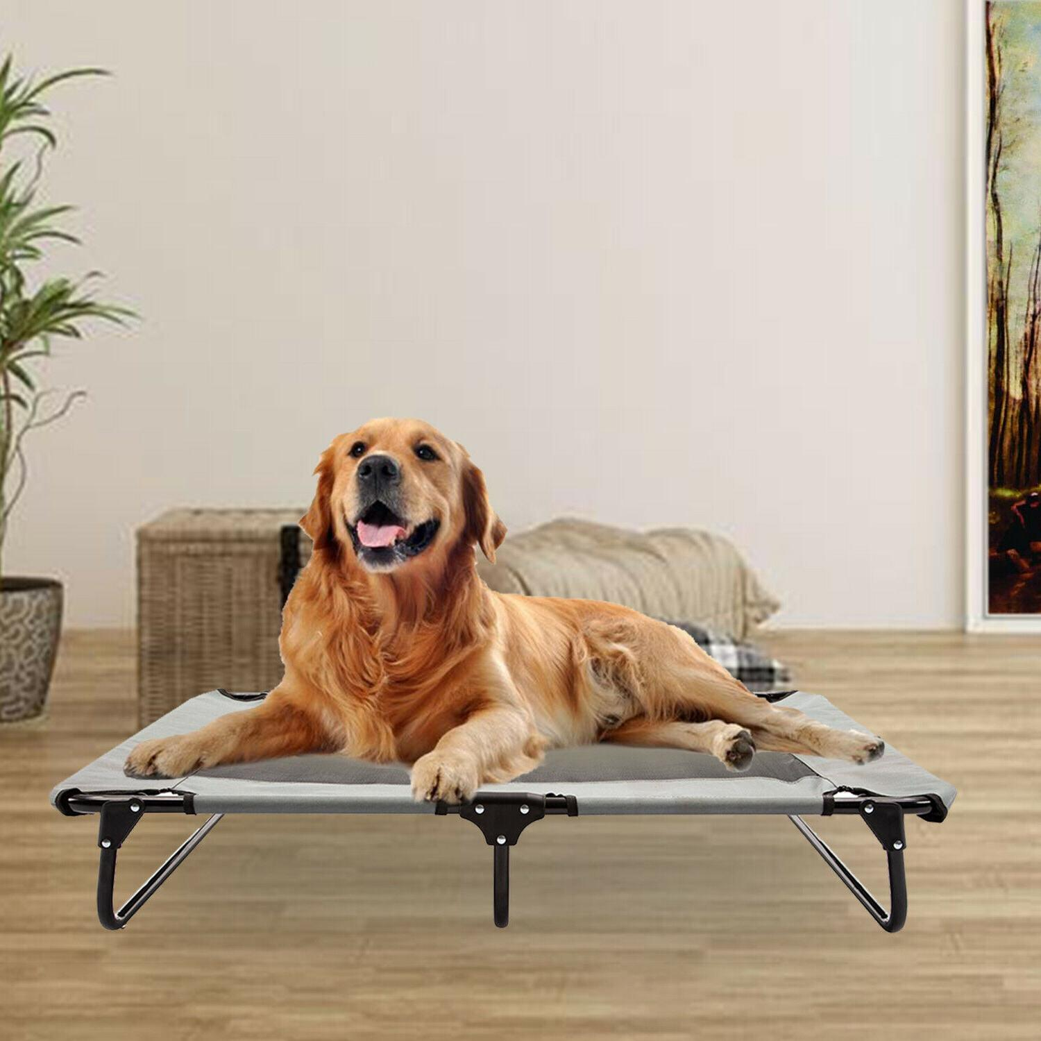 XXL Large Elevated Pet Bed Dog Raised Hammock Folding Breath