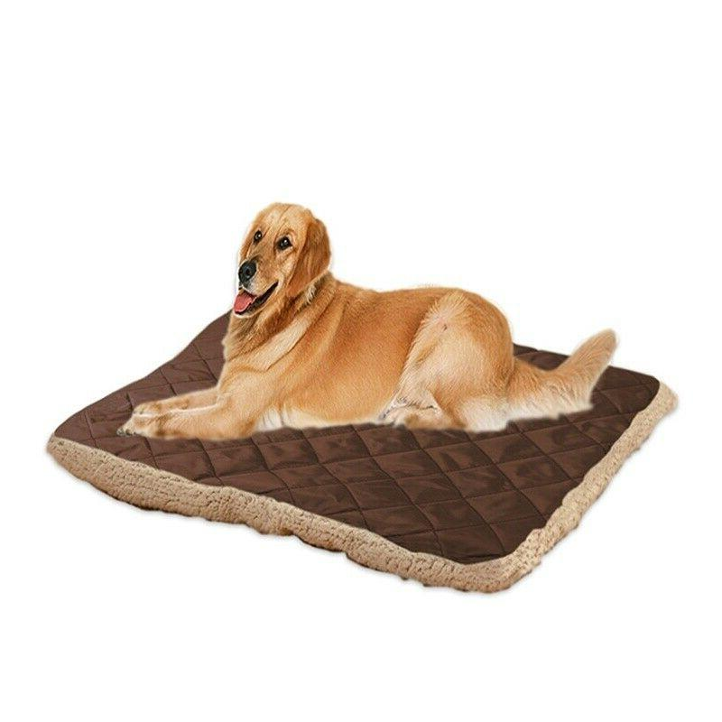Pet Large Dog Cat Cushion Reversible Washable
