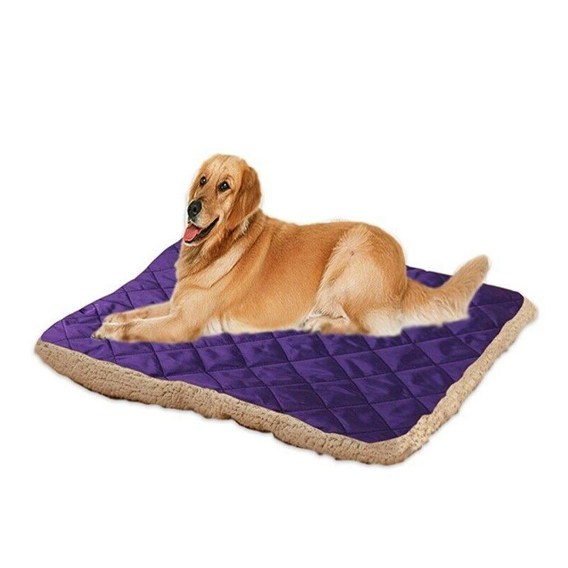 Pet Large Cat Mat Soft Plush Cushion Tear Washable
