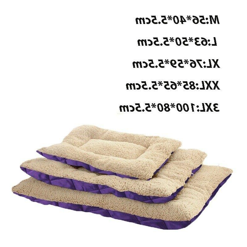 Pet Large Cat Mat Soft Cushion Reversible Washable