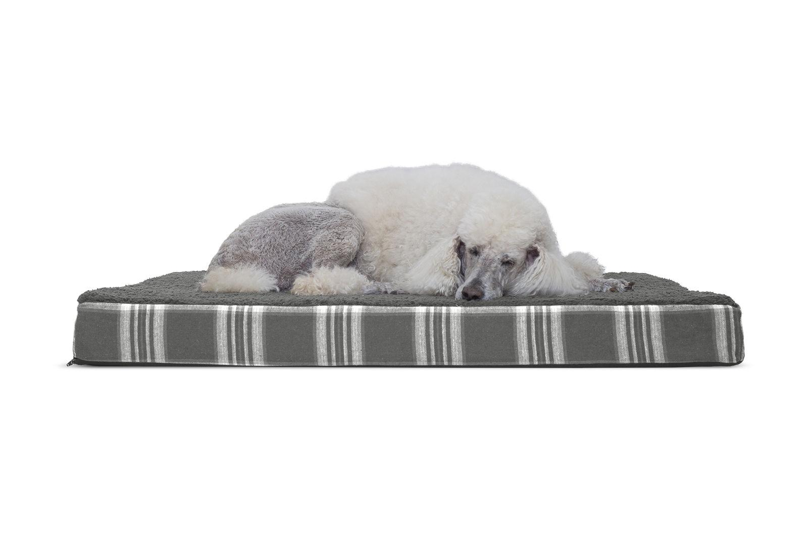 FurHaven Pet Pet Bed Deluxe Orthopedic Mat Bed Bed