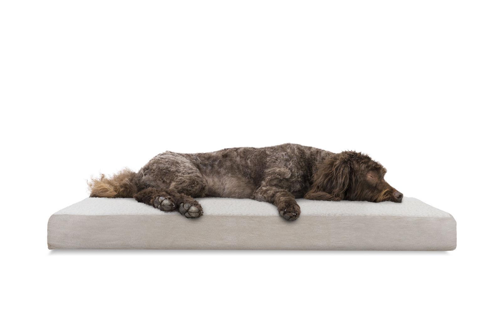 FurHaven Pet Bed Deluxe Egg-Crate Mat Pet Bed Dog Bed