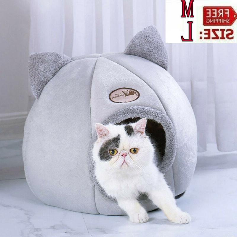 pet nest cat dog bed sleeping cushion