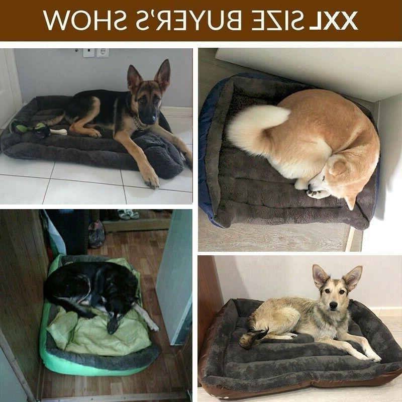 Pet Sofa Large Nest Soft Cozy Cushion