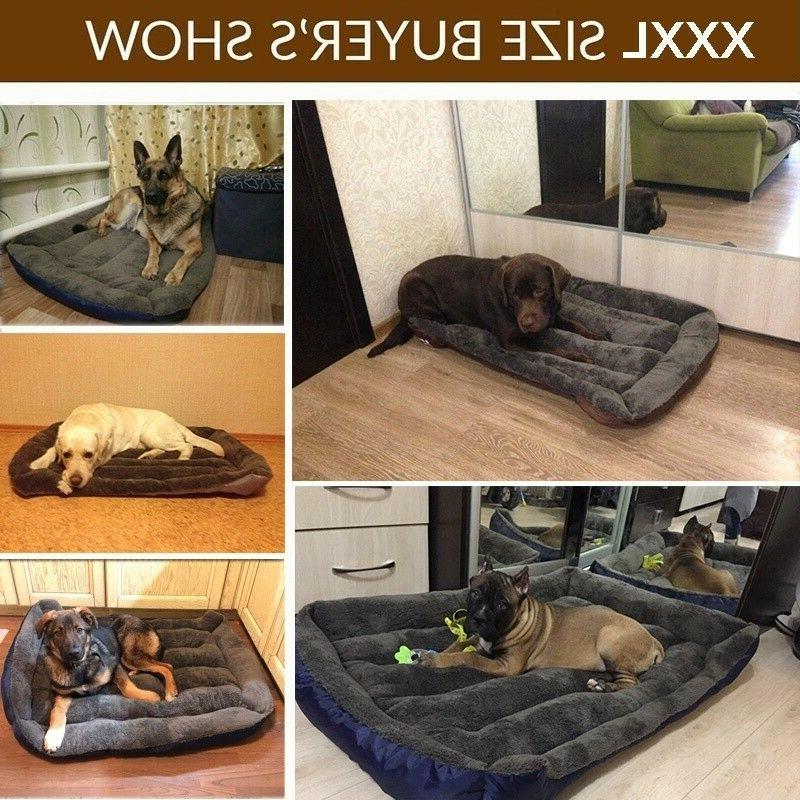 Pet Sofa Bed Nest Warm Soft Kennels Cozy Cushion Pads