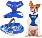 Pet Dog Vest Harness Leash Front Back Clip Rainproof Padded