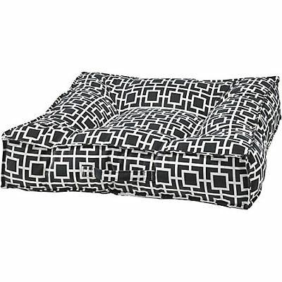 piazza courtyard taupe dog bed