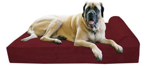 pillow orthopedic dog bed