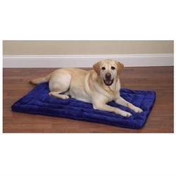 Plush Dog Mat - Size: Large , Color: Hunter Green