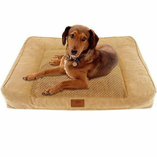 portable dog ultra plush memory